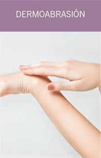 Dermoabrasión piel