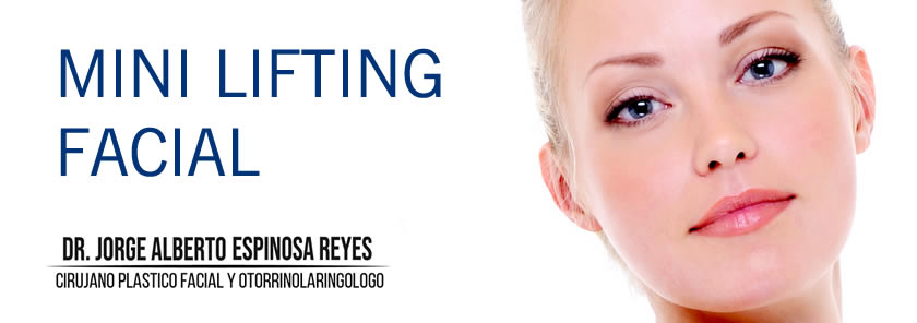 Banner Mini Lifting Facial