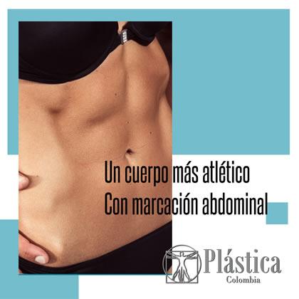 marcación abdominal femenina