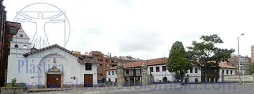 Fotografia de la Iglesia Nuestra Señora del Campo y Museo Francisco  de Paula Santander