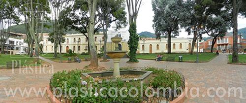 Fotografía del parque Usaquén en Bogotá