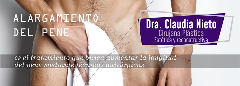 Alargamiento del pene genital