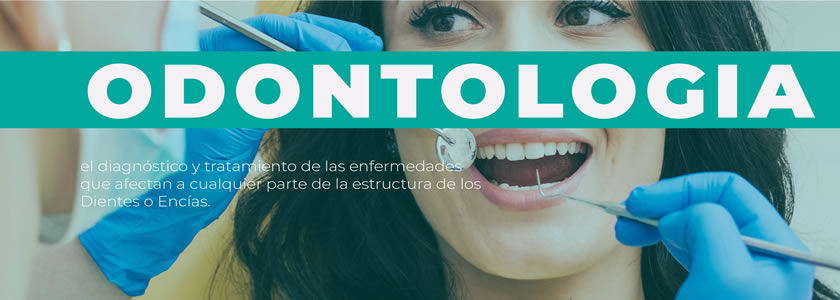 Banner Odontología