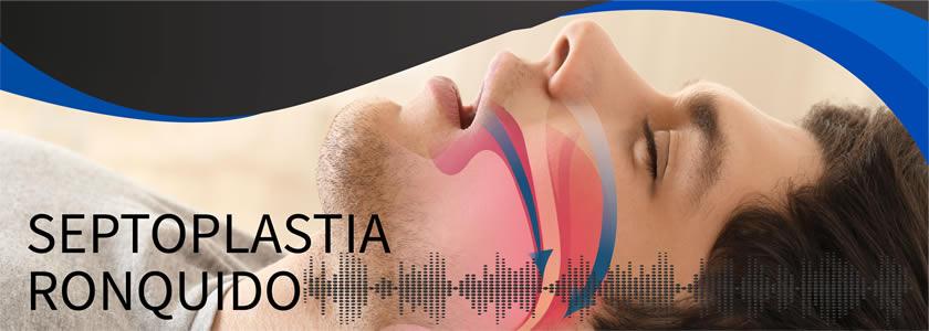 Banner Septoplastia - Ronquido