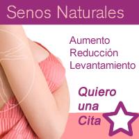 Procedimientos para tener senos naturales