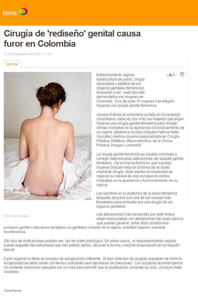 Cirugía genital
